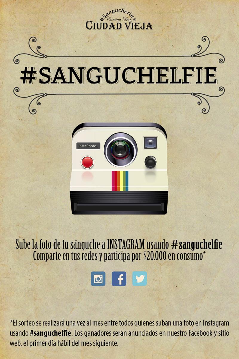 Sanguchelfie