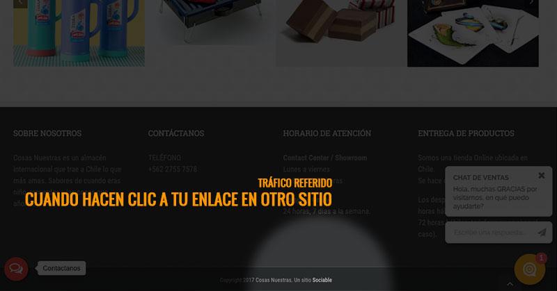 Página web - Referido